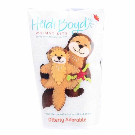 Heidi Boyd Softie Kit Otterly Adorable