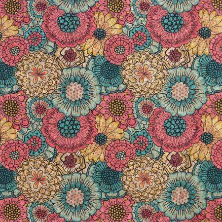 Cork - Flower Bed 1/2 Yard Cork