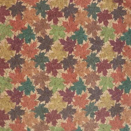 Pro Surface Cork Maple Leaves 1/2 Yard