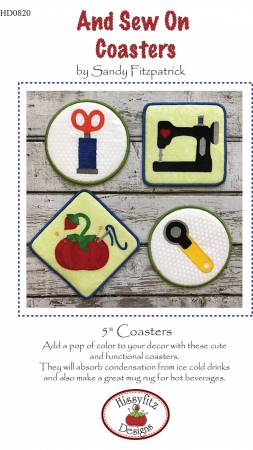 And Sew On Coasters