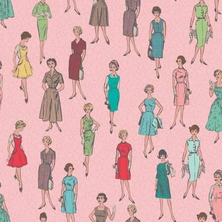 My Happy Place Home Dec Vintage Ladies Pink 57/58