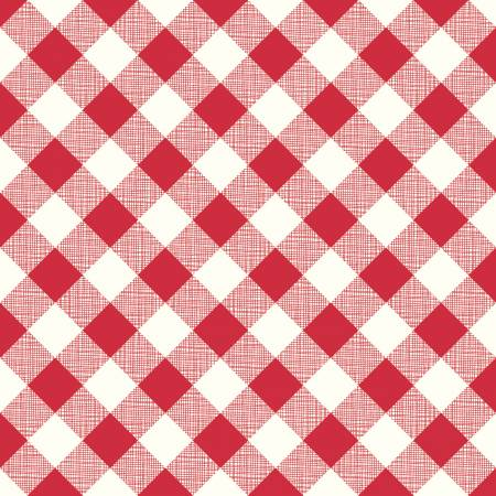 My Happy Place Home Dec Gingham Red 57/58