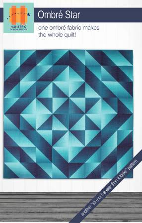 Ombre Star Pattern