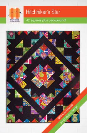 Hitchhikers Star Pattern - Pre Cut Friendly