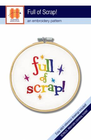 Full of Scrap Embroidery