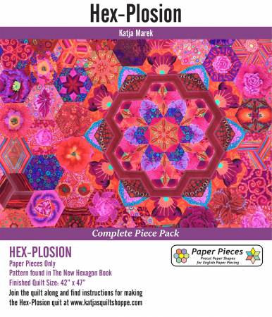 N- Paper Pieces Hex-Plosion Complete Pack