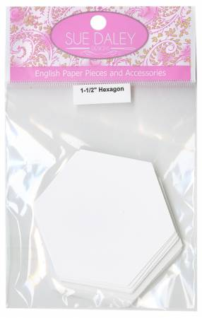 1-1/2in Hexagon Papers (50 pieces per bag)