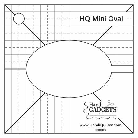 Mini Oval Ruler