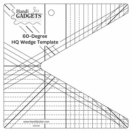 HQ- 60 Degee Wedge Template