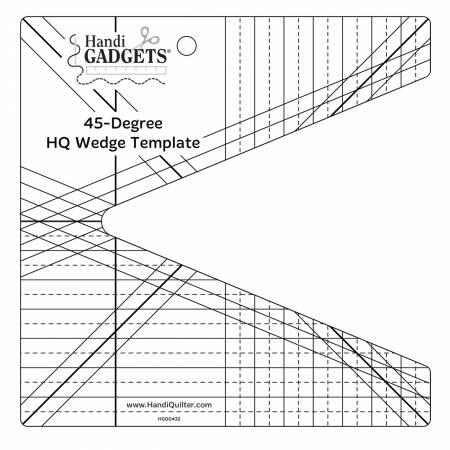 45 Degree Wedge Ruler