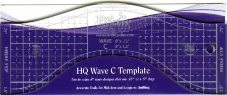Wave Ruler C 8in