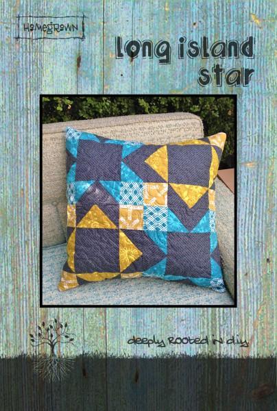 Long Island Star-Pillow Top - Villa Rosa - 20 x 20 Scraps