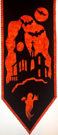 Haunted House Laser Cut Silhouette