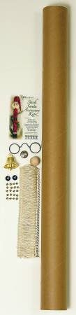 Stick Santa Jingle Bell Greeter Accessory Kit