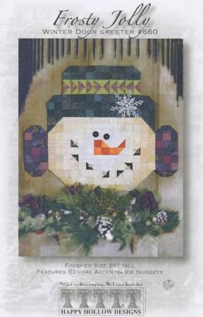 Frosty Jolly Snowman Pattern 660 - 712685006603
