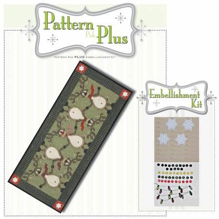 Topsy Turvey Reindeer Pattern Pak Plus