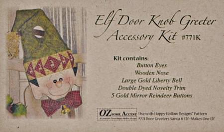 Elf Door Knob Greeter Accessory Kit