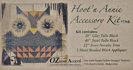 Hoot 'n' Annie Accessory kit