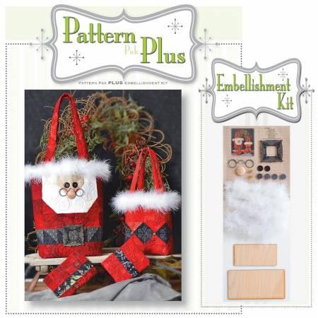 Santa Gift Bags Pattern Pak Plus