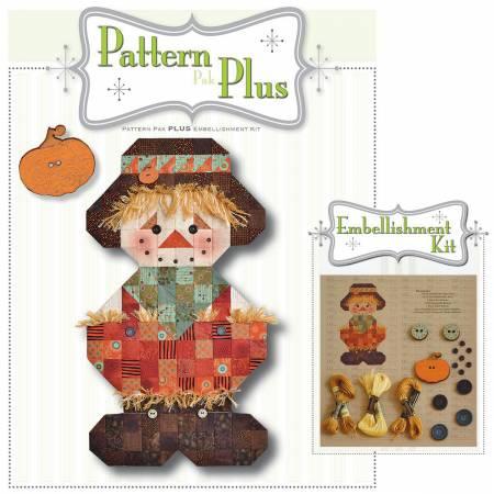 Roly Poly Scarecrow Pattern Pak Plus