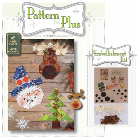 Wintery Friends Trio Pattern Pak Plus