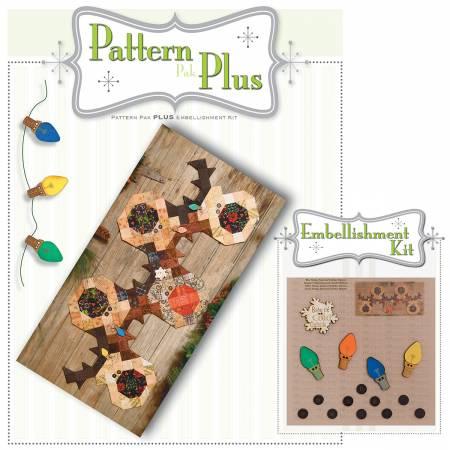 Button Reindeer Pattern Pak Plus