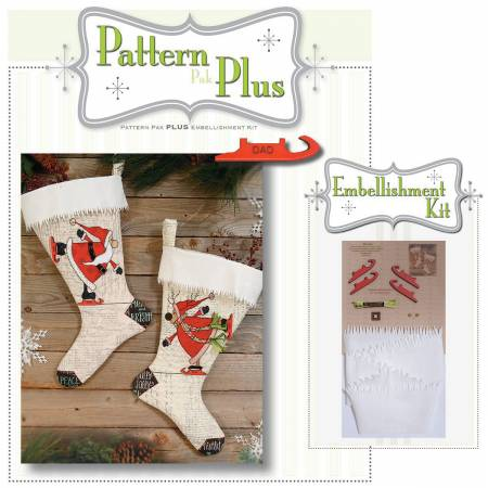 Merry & Bright Stocking Pattern Pak Plus