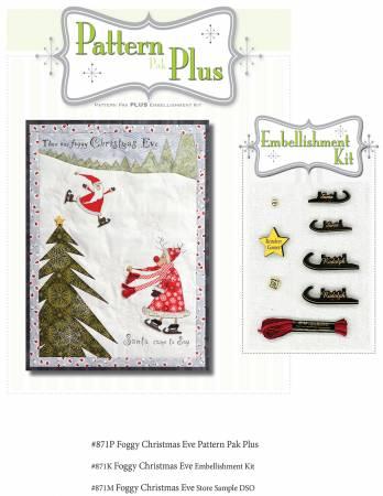 Foggy Christmas Eve Pattern Pak Plus