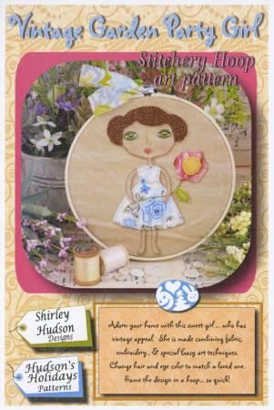 Vintage Garden Party Girl