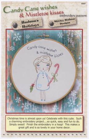 Candy Cane Wished Embroidery