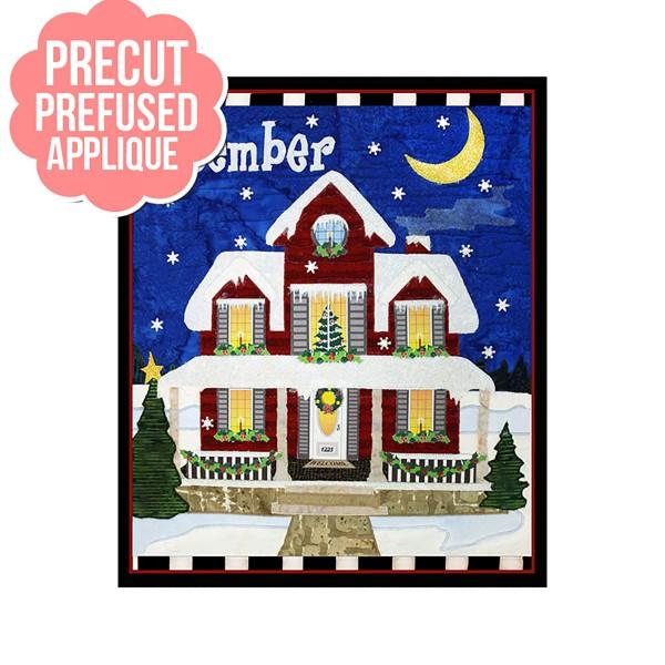 Holiday Houses December Pre-Cut kit