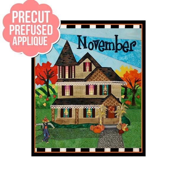 Holiday Houses November Pre-Cut kit