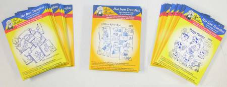 Aunt Martha's Hot Iron Transfer Blue Category Refill For Assortment