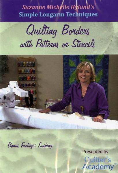 HQ DVD: Quilting Borders with Patterns or Stencils