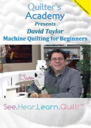 Machine Quilting For Beginners DVD