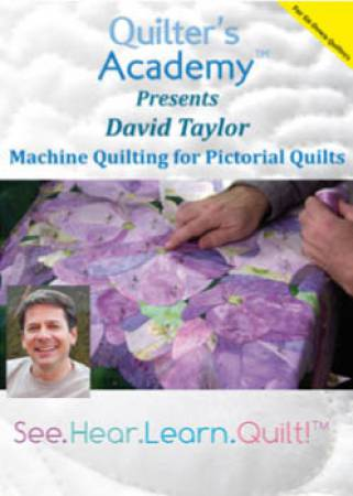 Machine Quilting For Quilt Artists DVD