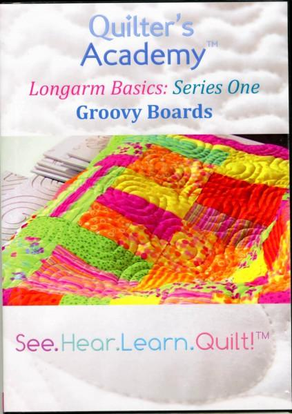 Quilter's Academy: Longarm Basics: Groovy Boards DVD