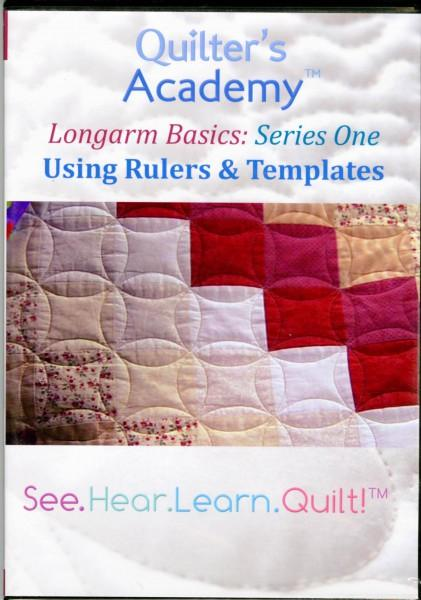 Quilter's Academy: Longarm Basics: Using Rulers and Templates DVD