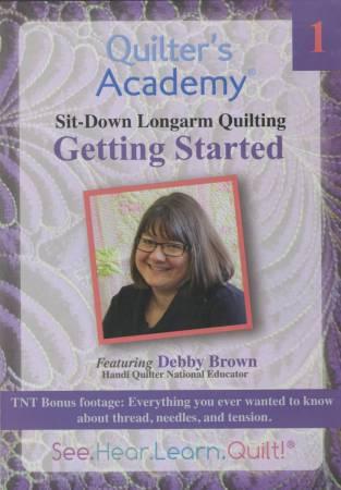 HQ Debbie Brown Longarm Getting Started