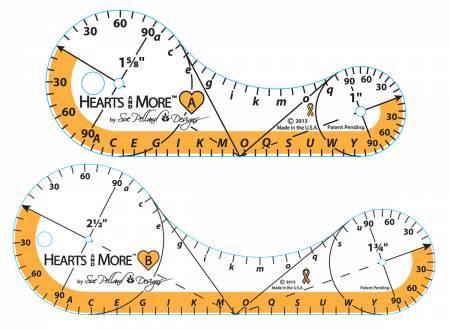 Hearts & More Templates Small 2pc Set
