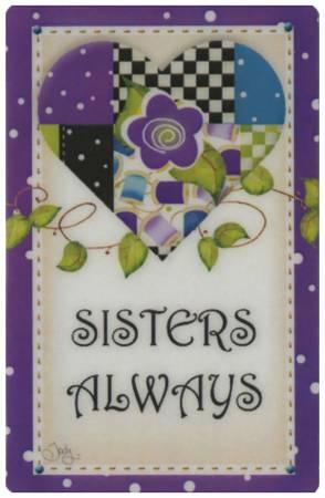 Purple Heart Sisters Always Magnet