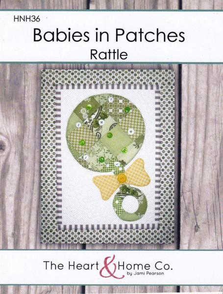 Babies In Patches Rattle - 036663242860