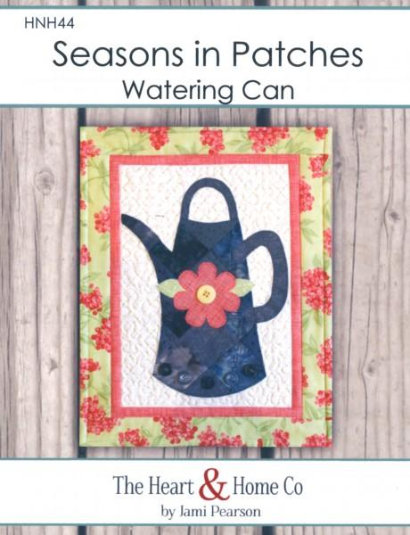 Seasons in Patches Watering Can