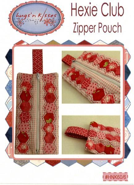 Hexie Club Zipper Pouch