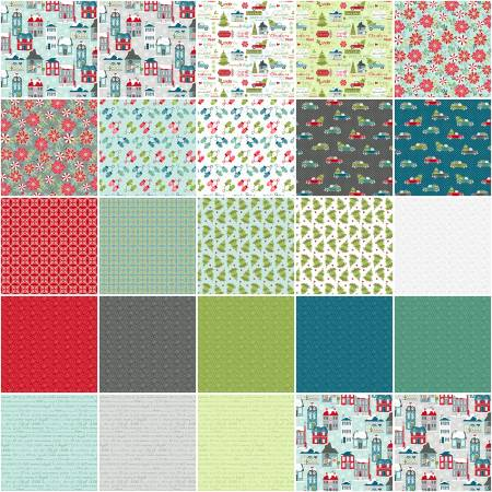 10in Squarse Heart & Home 42pcs/bundle