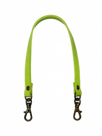 Leather-Like 12-1/2In Swivel Hook Purse Handle Light Green
