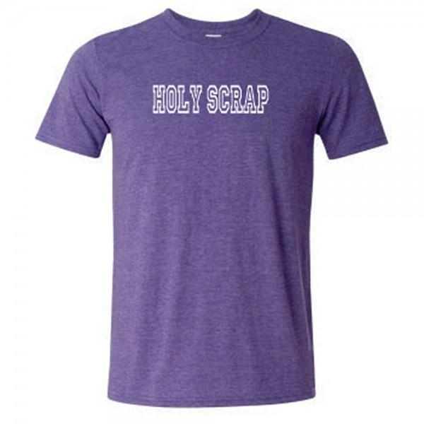 Holy Scrap Short Sleeve T-Shirt Purple 3X Large - 019962480850