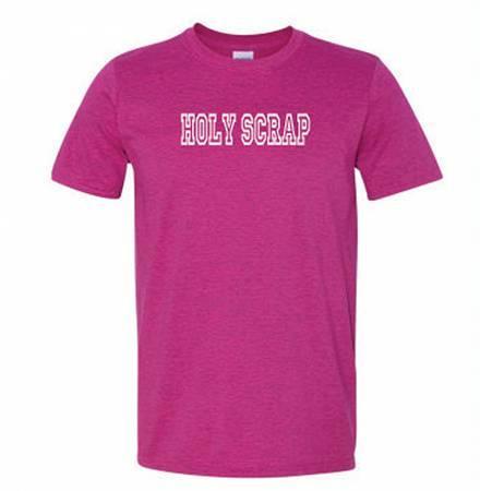 Holy Scrap SS T-Shirt Raspberry - 2XL