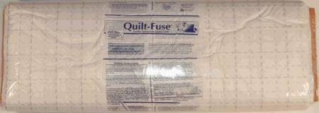 Quilt Fuse 2in Grid Interfacing 48in width - White