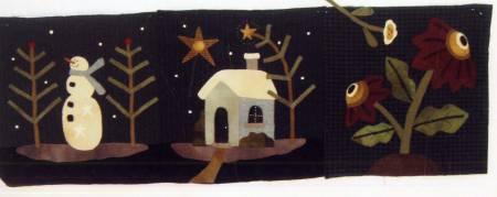 Merry Christmas Quilt Set 3